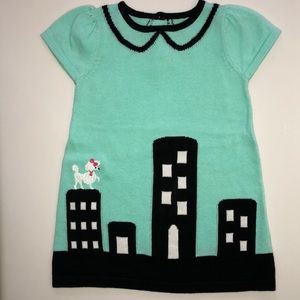 Gymboree toddler dress with poodle